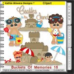 Buckets Of Memories Clipart - CU