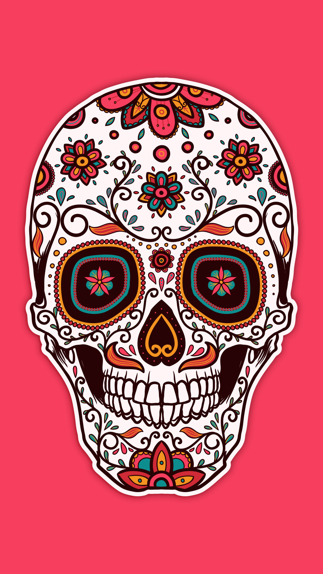 Sugar Skull Wallpaper for iPhone (62+ images)