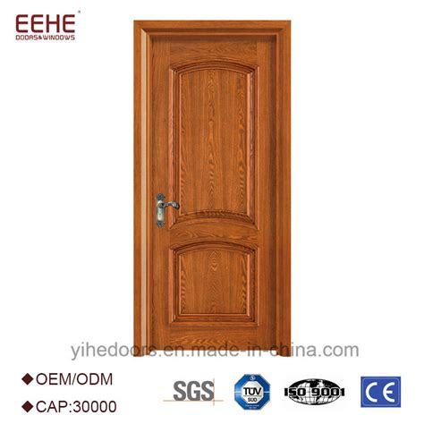 china latest design wooden doors simple teak wood door