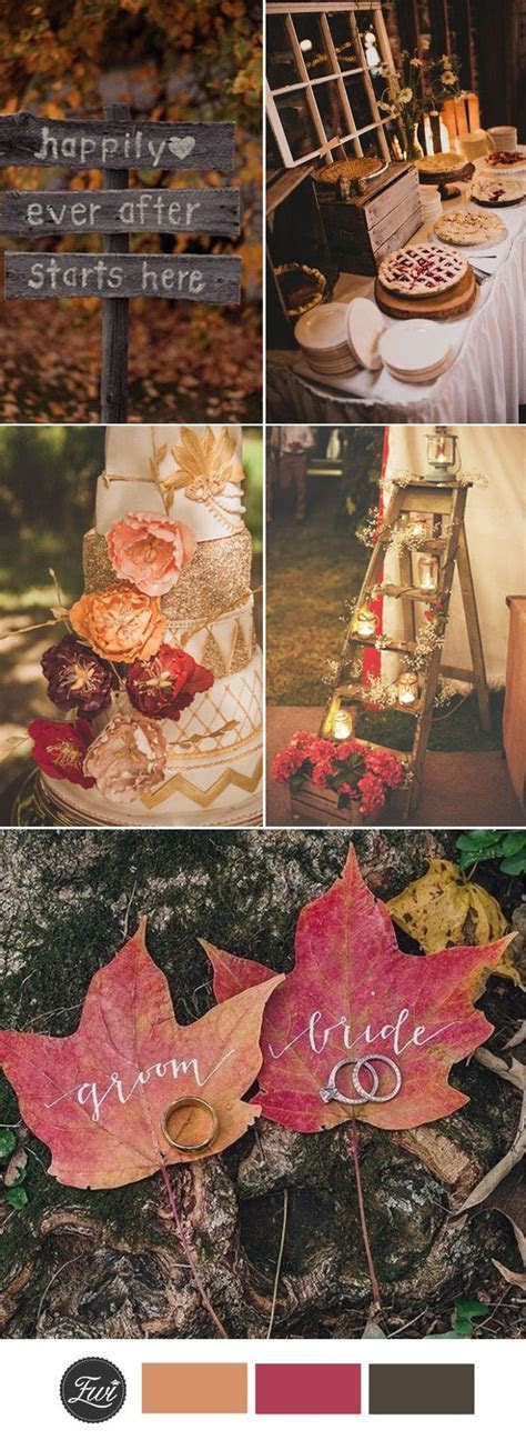 Best 25  Fall wedding ideas on Pinterest