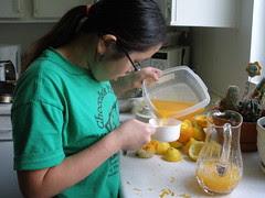 Measuring Orange Juice