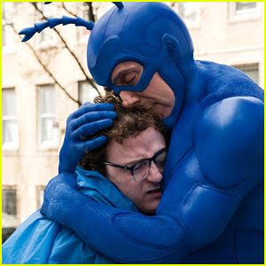 'The Tick' Trailer Debuts, Watch Peter Serafinowicz in Action!