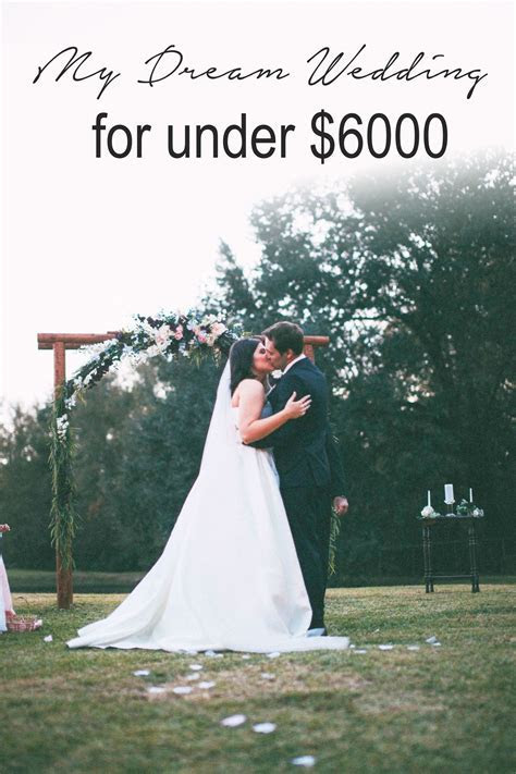 My Dream Wedding for Under $6000   On the Blog   Budget