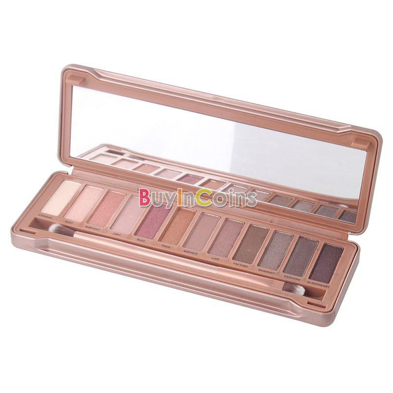 1PCS Newest 12 Colors Makeup Nautral Nude Eyeshadow Palette Noble Eyes Set 03