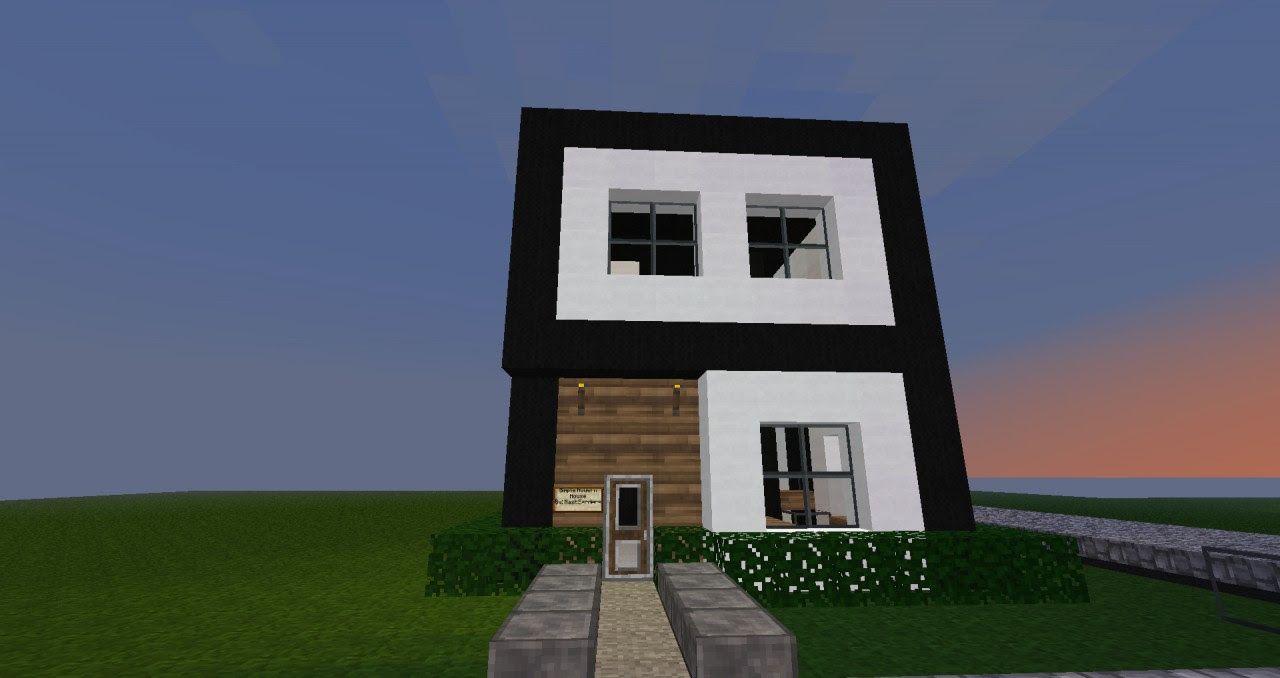 Newest 24+ SimpleModern House Minecraft
