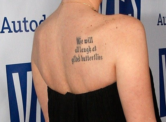 Short Quotes Tattoos About Be Yourself