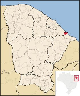 Localização de Fortim