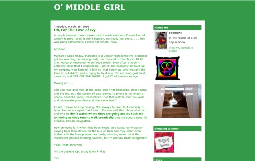 Middle Girl