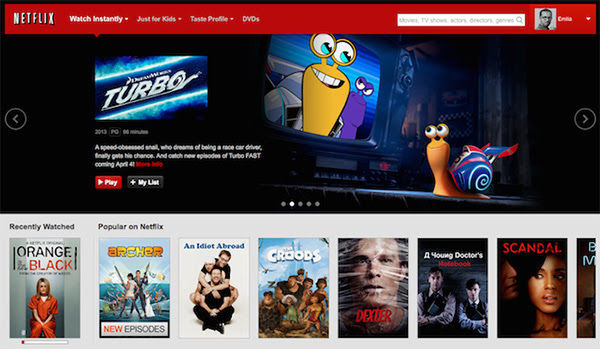 Netflix design today