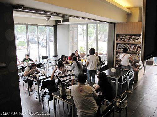台中文心森林公園附近咖啡簡餐 陽光盒子餐廳