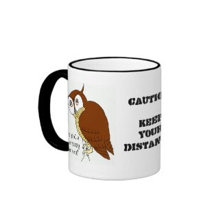 'Not a Morning Person' Coffee Mug mug