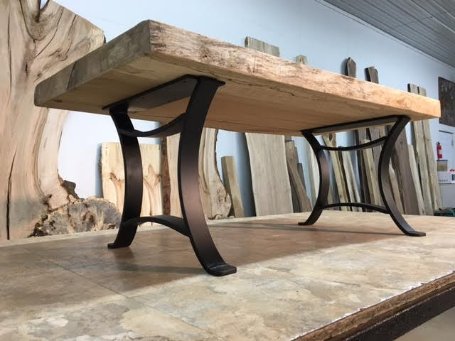 Ohiowoodlands Coffee Table Base. Steel Coffee Table Legs ...