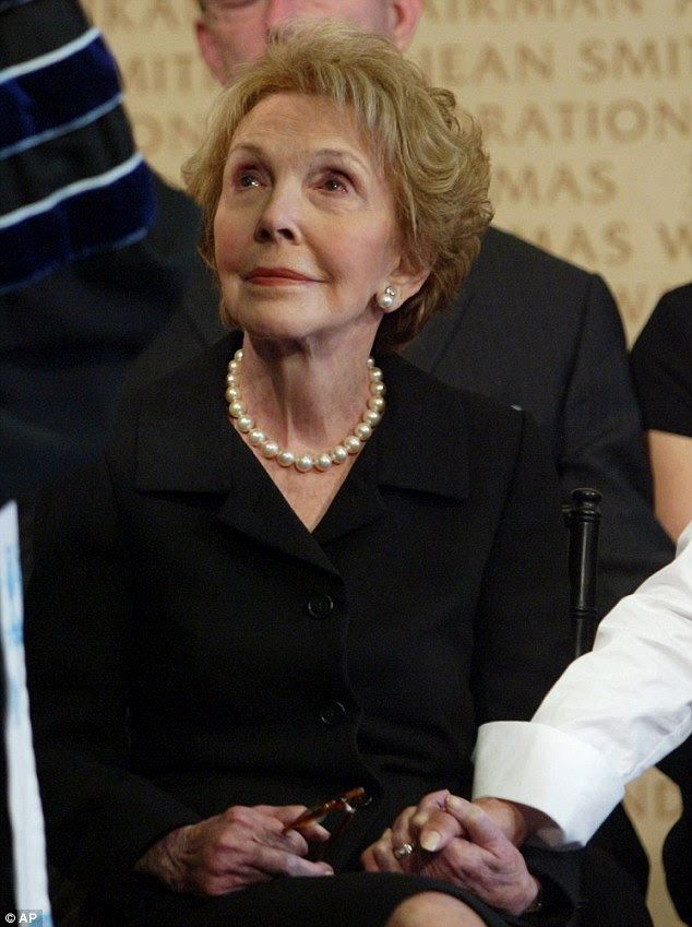 Nancy Reagan has died at the age of 94