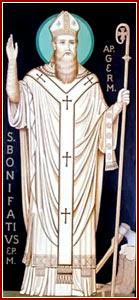 SAN BONIFACIO, Obispo y Mártir