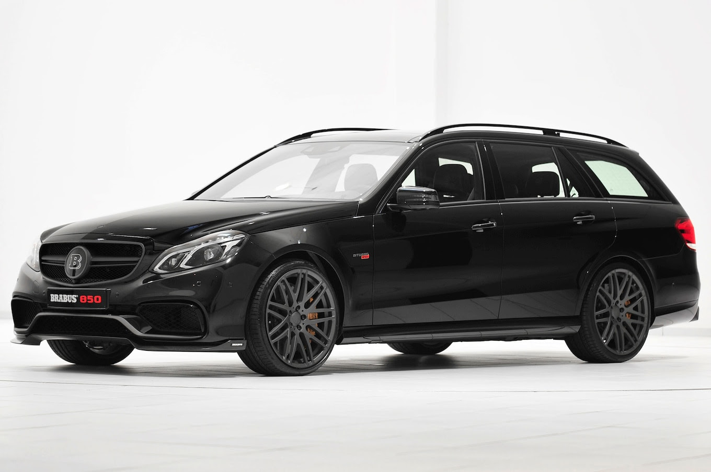 Whoa: Brabus-Tuned Mercedes-Benz E63 AMG Wagon Makes 850 ...