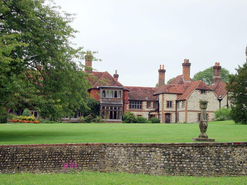 File:Gilbert White's house, back view.JPG