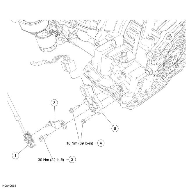 Ford Focus Service Manual Transmission Range Tr Sensor Automatic