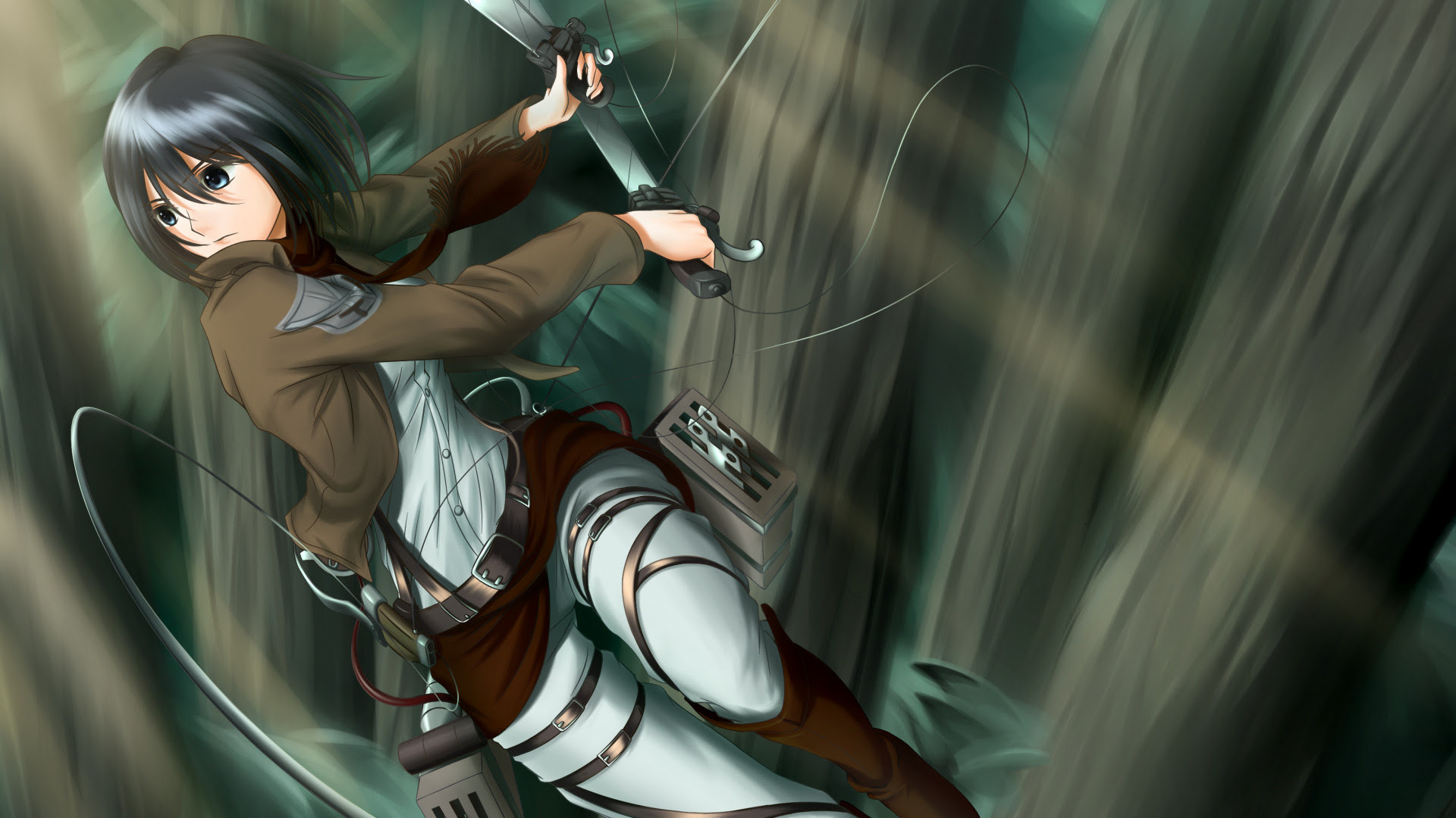 Attack On Titan Mikasa Ackerman Wallpapers 82 Images