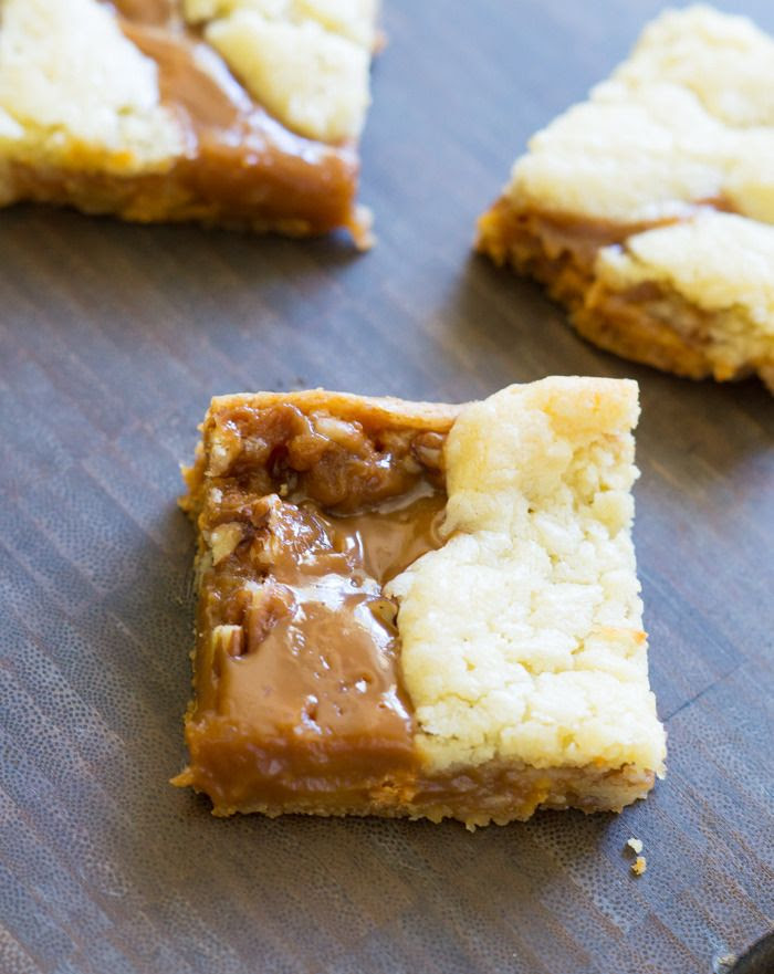Salted Caramel Butterscotch Blondies