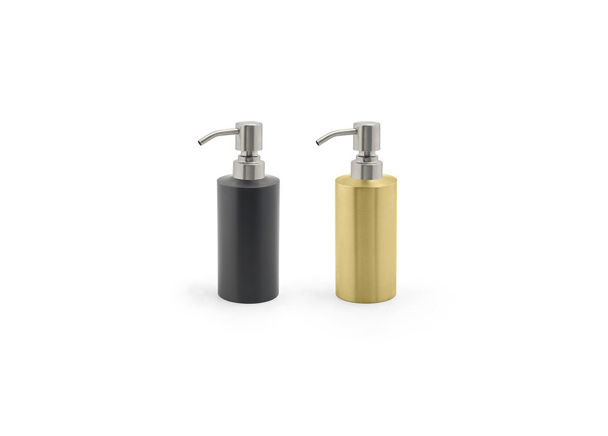 12oz Stainless Steel Soap Pump With Brushed Stainless Steel Pump