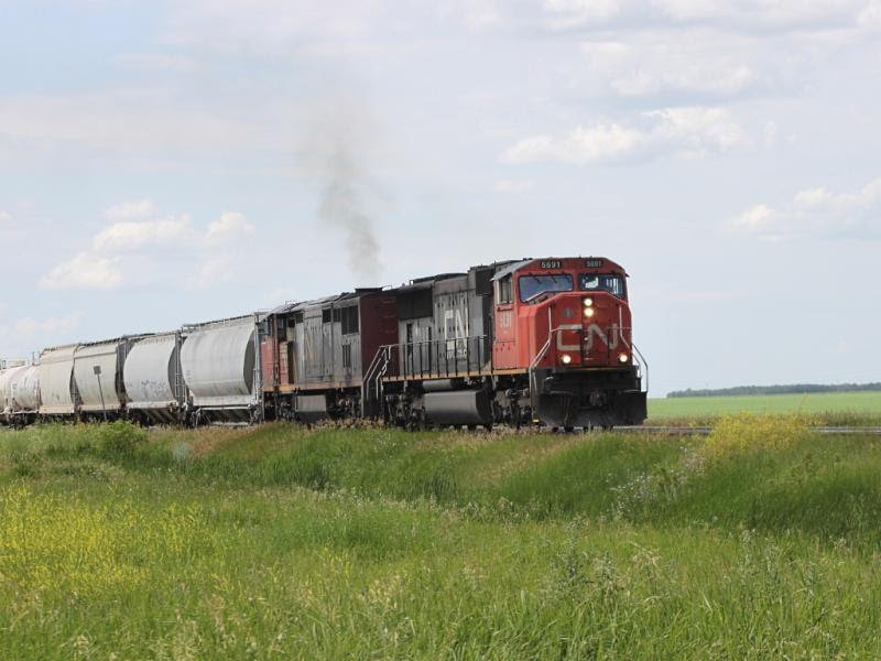 CN 5691 in Winnipeg