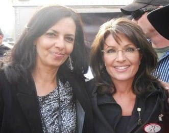 Selena Owens and Sarah Palin