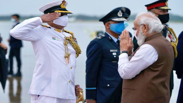 India's Ambassador to the US Taranjit Singh Sandhu, along with the Defence attache including Brigadier Anoop Singhal, Air Commodore Anjan Bhadra and naval attache Commodore Nirbhaya Bapna were also at the airport to welcome Modi. Following his engagements in Washington, Prime Minister Modi will then travel to New York to address the ongoing 76th session of the United Nations General Assembly on 24 September. Image Courtesy: @narendramodi/Twitter