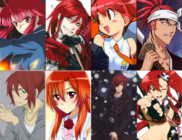 Anime Karakterlerinde Sa Rengi Anime Genel T rk Anime
