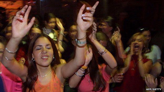 De fiesta en Bogotá
