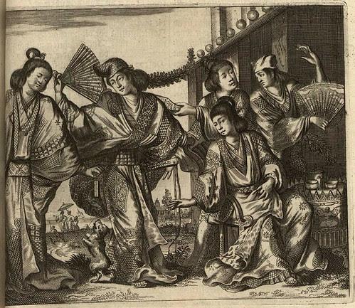 Denckwürdige Gesandtschafften der Ost-Indischen Geselschaft u
