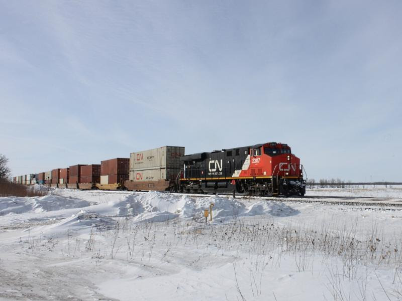 CN 2307 in Winnipeg
