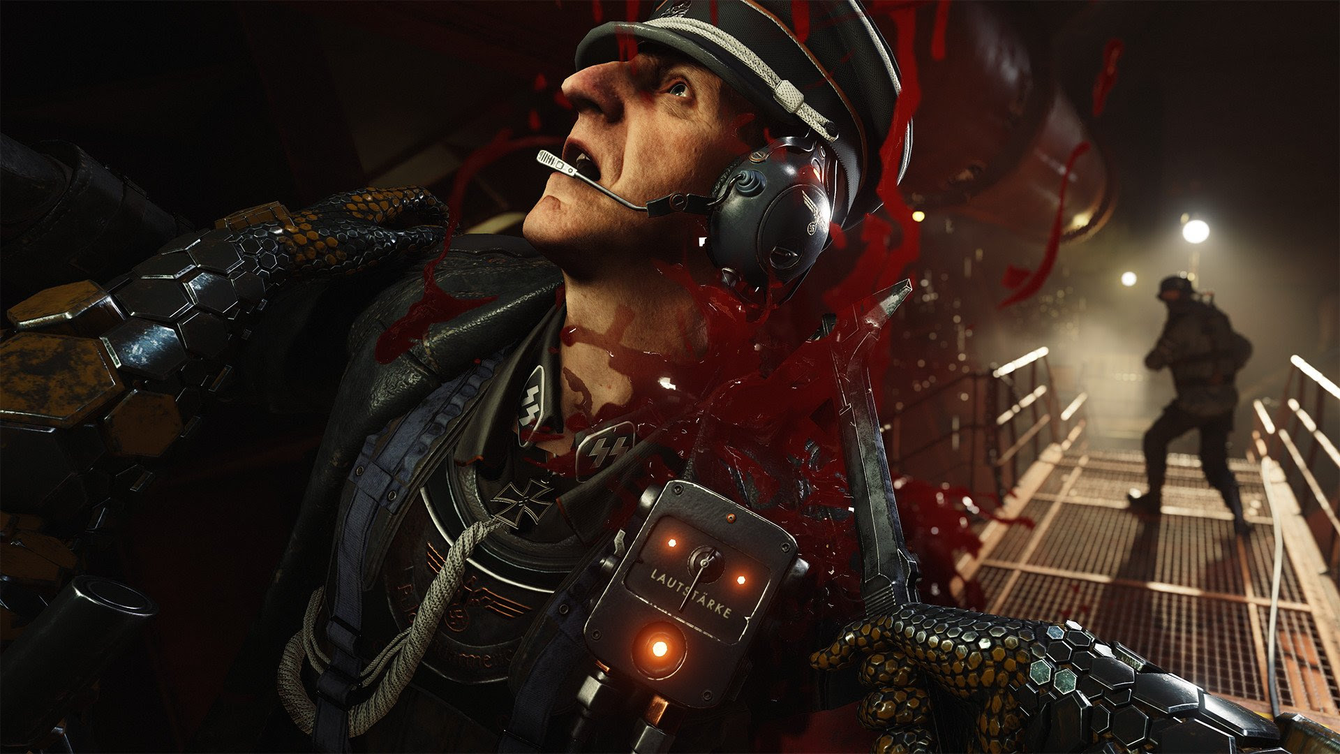 The nazis are still in charge in Wolfenstein II: The New Colossus screenshot