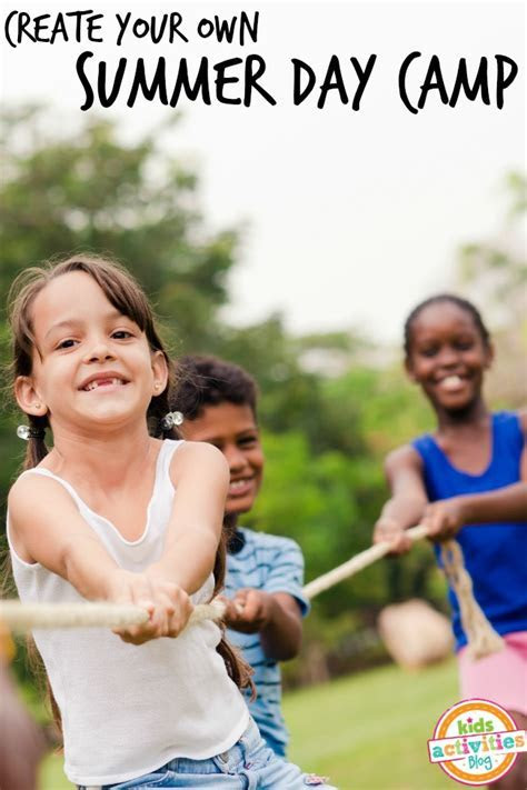 Create Your Own Summer Day Camp