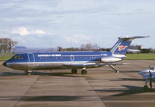 G-YMRU Airways Cymru Rhoose 200485