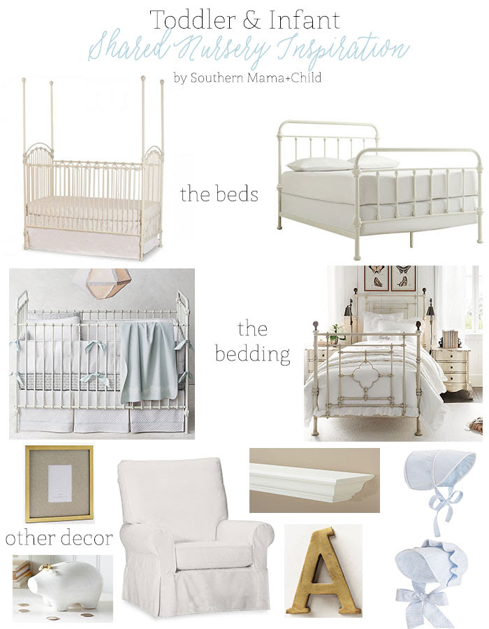 Toddler And Infant Shared Nursery Room Inspiration Southern Mama Guide