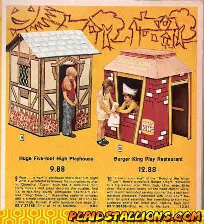 Wes Bosen Burger King 70s