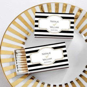 Personalized Wedding Matches Cheap, Custom Wedding Matches
