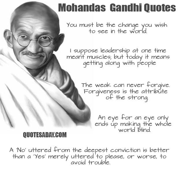 Top 10 Gandhi Quotes. QuotesGram