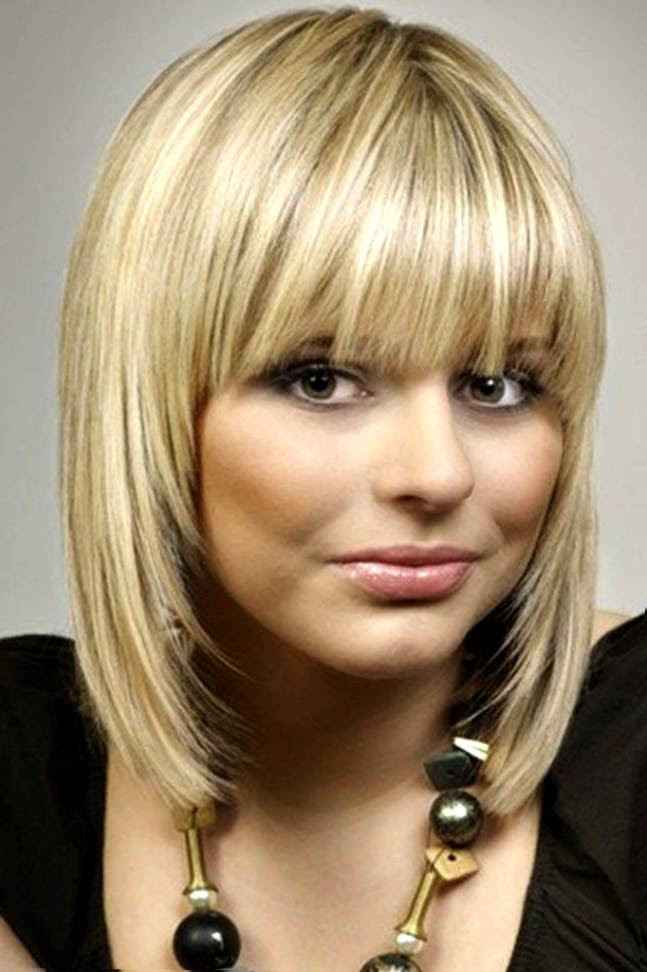 Short Bob Haircut With Bangs 2015 Short Hairstyles 2019