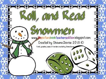 Roll, & Read Snowmen