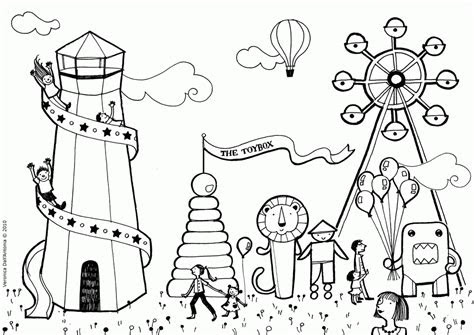 county fair coloring pages  kids coloring home