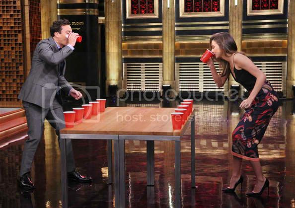 Miranda Kerr Flip Cup at The Tonight Show with Jimmy Fallon photo miranda-kerr-jimmy-fallon-flip-cup_zps8cadfa00.jpg