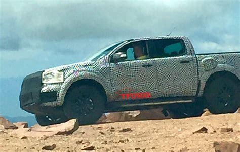 ford ranger raptor spy  fast lane truck