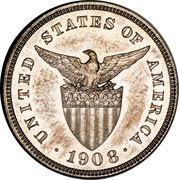 5 Centavos (U.S. Administration) – obverse