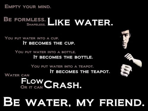 Emotional Content Five Bruce Lee Quotes That Affect My Everyday Life