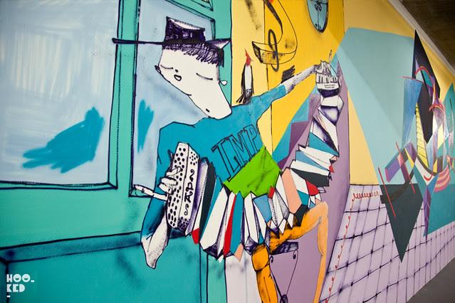 Graffitimundo's 'The Talking Walls of Buenos Aires' Shoreditch exhibition photos