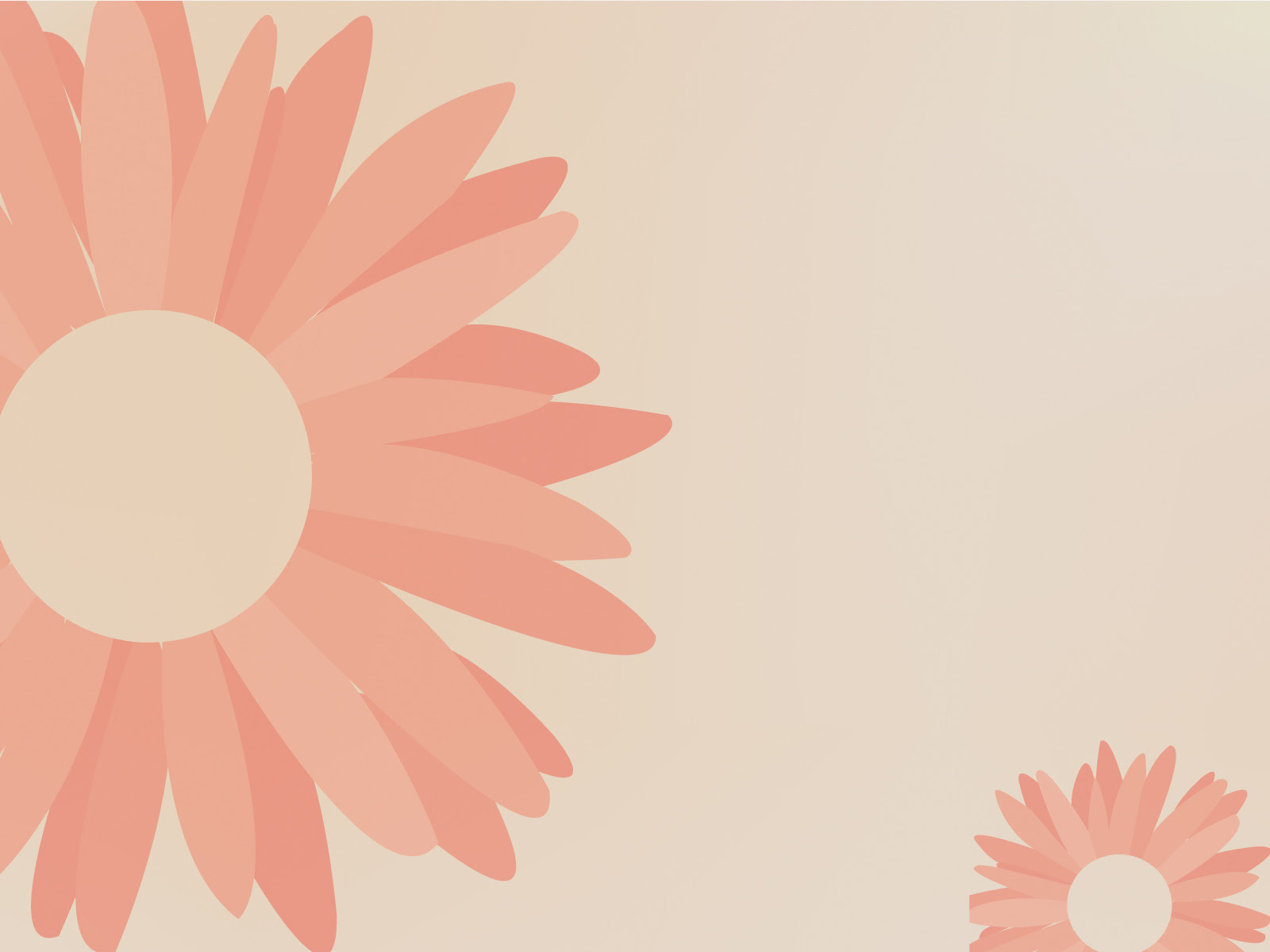 Hummingbird Pink Style Powerpoint Templates - Brown, Flowers, Orange - Free PPT  Backgrounds And Templates
