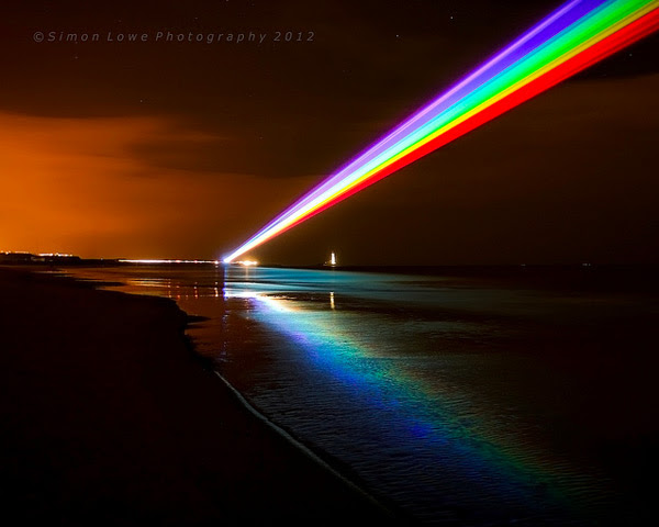 Global Rainbow rainbows light lasers installation