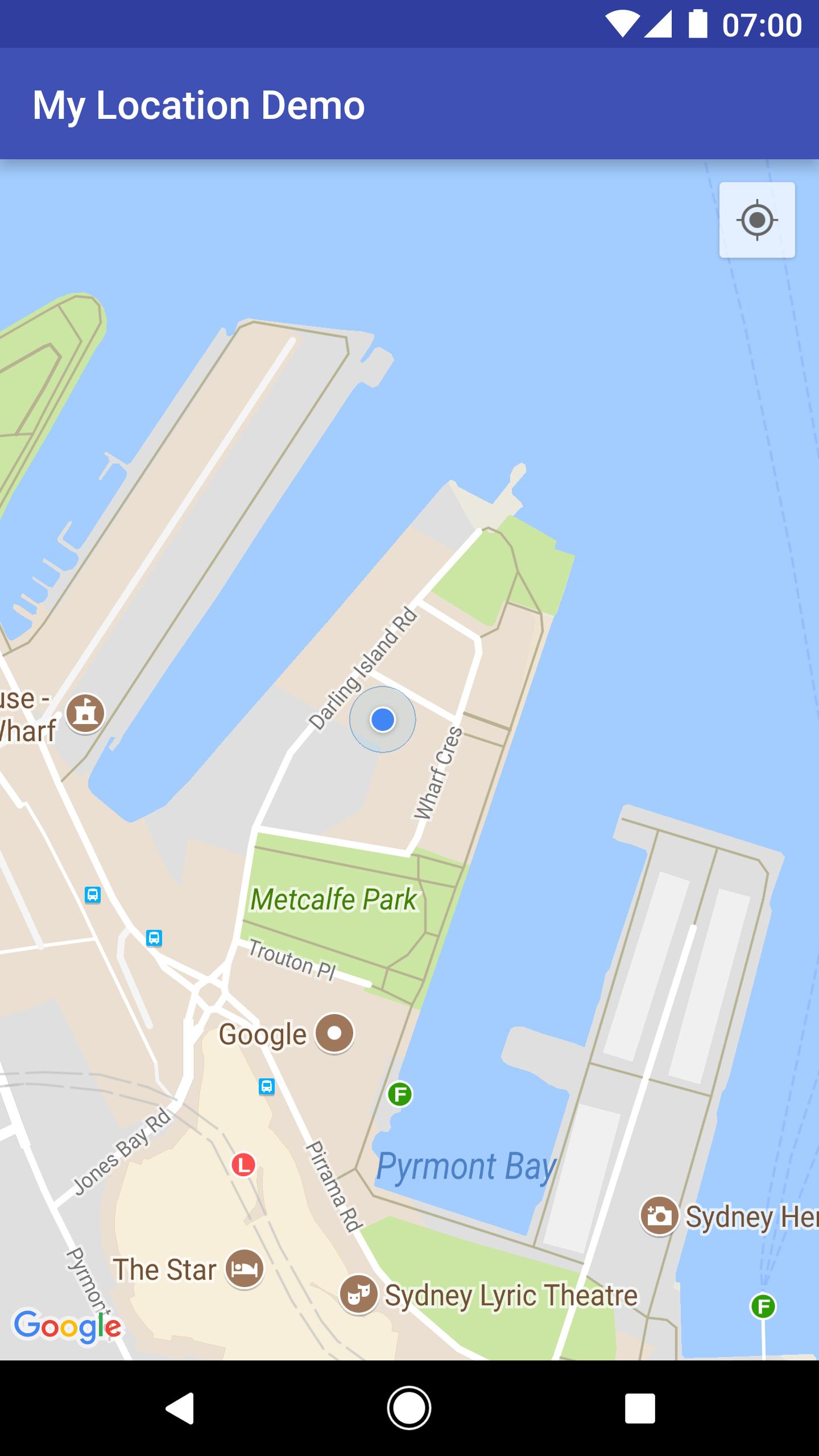 Location Data Google Maps Android Api Google Developers