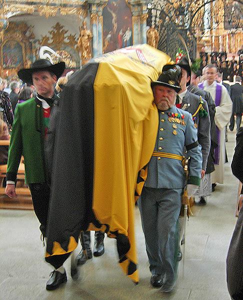 The sarcophagus of Archduke Felix